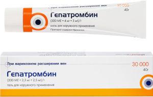 Гепатромбин – эффективное лечение и профилактика геморроя
