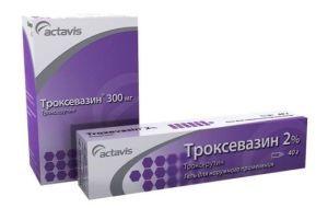 Эффективность применения мази Троксевазин при геморрое