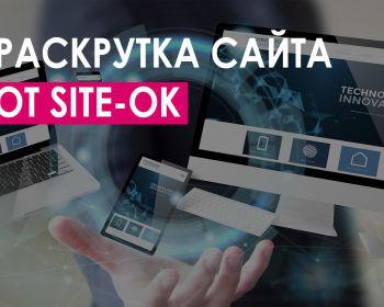 Раскрутка сайта от «Site Ok» и несколько других прогрессивных методов развития проекта
