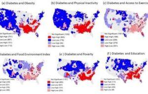 Инструмент искусственного интеллекта может определить тенденции развития диабета 2 типа в США