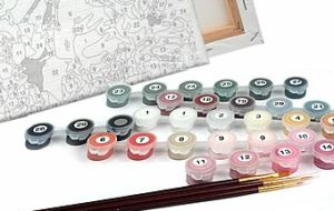 Преимущества рисования картин по номерам