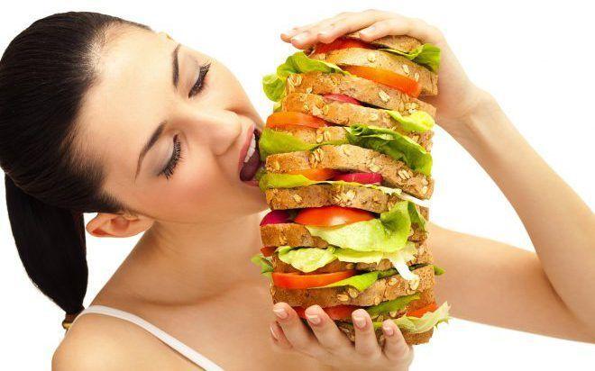 Неправильное питание приводит к запору