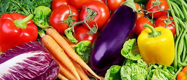 Овощи и фрукты в сыром виде