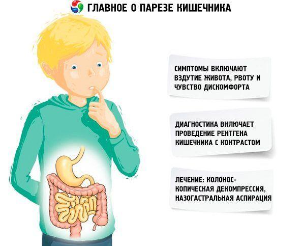 Парезы кишечника