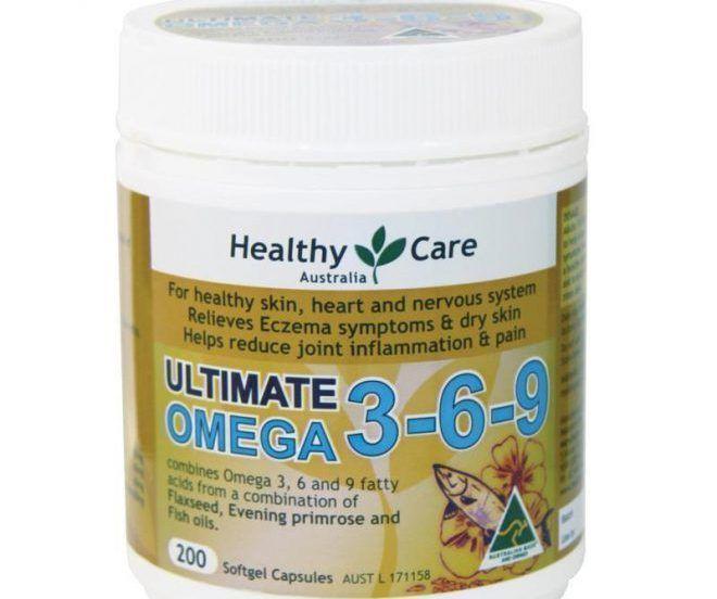 Омега-3, 6, 9 жирные кислоты