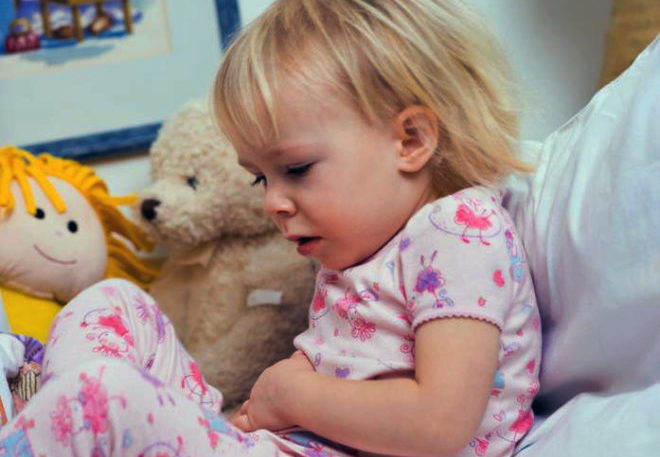 Боль в животе у ребенка при рефлюксе