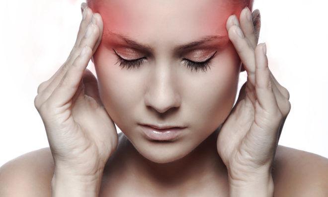 Один из побочных эффектов-головные боли