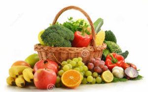 Овощи и фрукты помогают работе вашего желудка