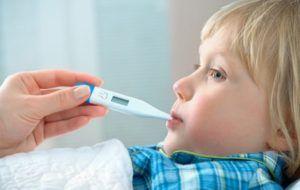 Повышение температуры у ребенка