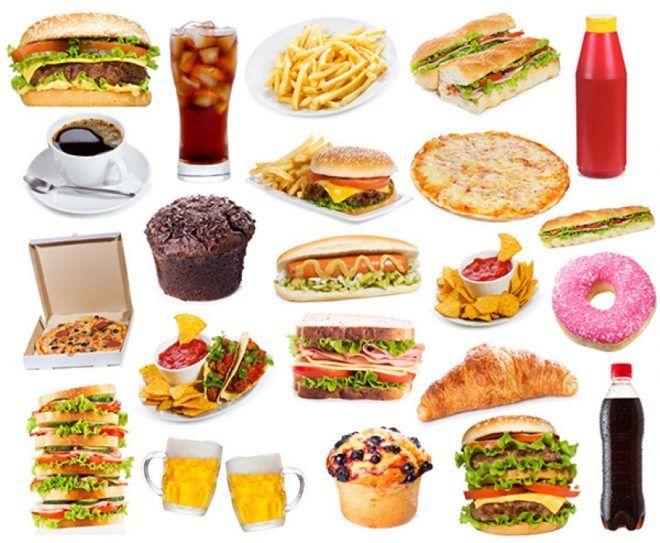 Список вредной еды для вашего желудка