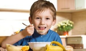 Переваривание пищи у детей