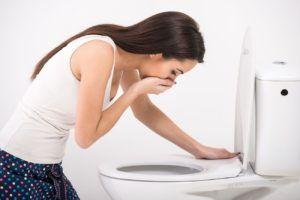 Левомецетин может вызвать тошноту и рвоту