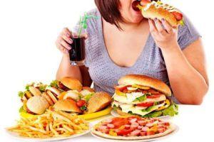 Не здоровое питание