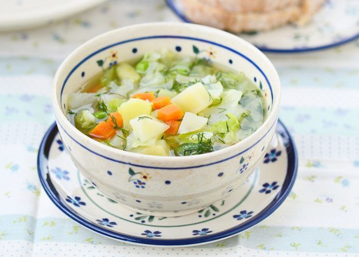 Нежирные супы