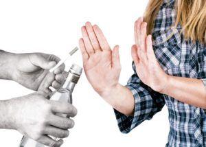Отказ от алкоголя и табакокурения