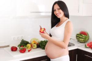 Питание беременных должно быть рациональное