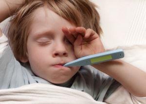 Повышенная температура тела влечет за собой судороги