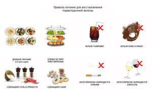 Стоит соблюдать диету при панкреатите