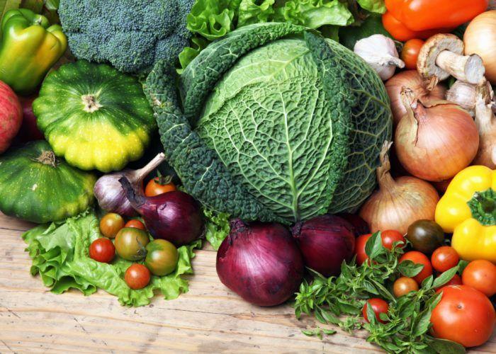 Различные овощи
