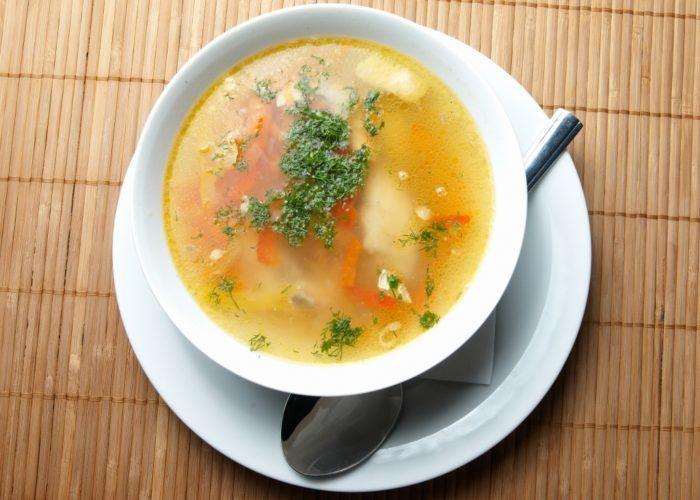 Супы из нежирного мяса