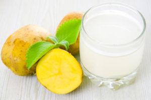 Свежий сок картофеля при панкреатите