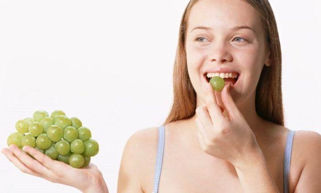 Виноград замедляет процесс старения