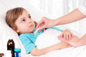 Высокая температура при ротавирусе