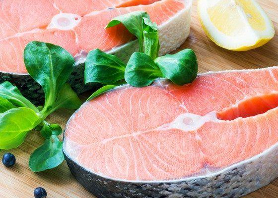 Жирное мясо и рыба