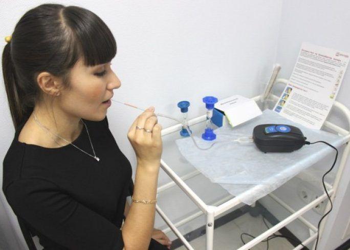 Дыхательный тест на наличие Helicobacter pylori