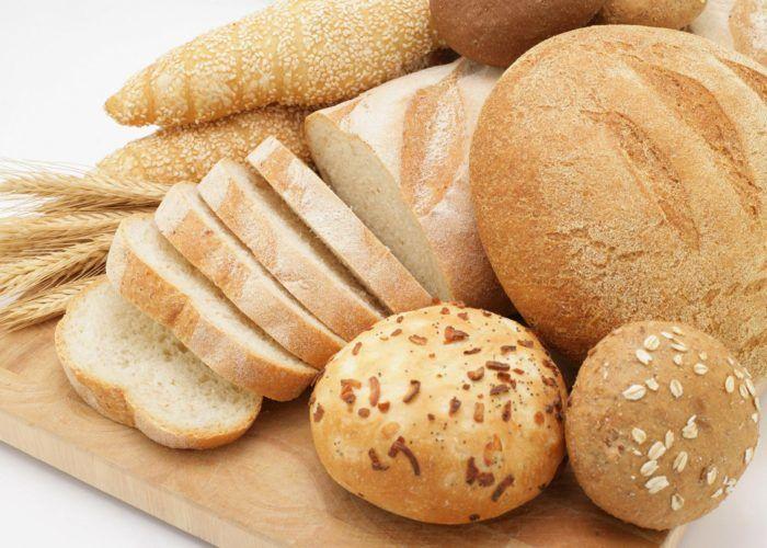 Пшеничный хлеб, горячая домашняя сдоба