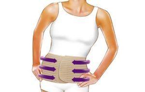 Бандаж повышает тонус брюшной мускулатуры