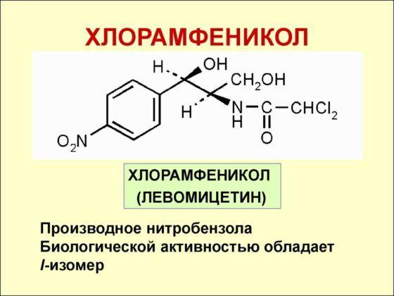 Хлорамфениколы