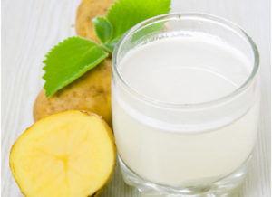 Картофельный сок стоит употреблять за 2 часа до еды