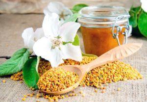 Настой цветочной пыльцы для лечения загиба желчного пузыря