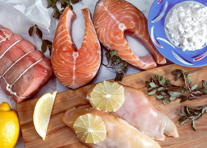 Нежирные рыбые продукты