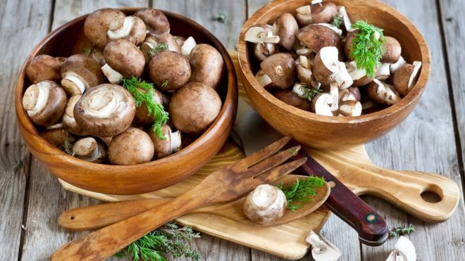Низкое усвоение грибов