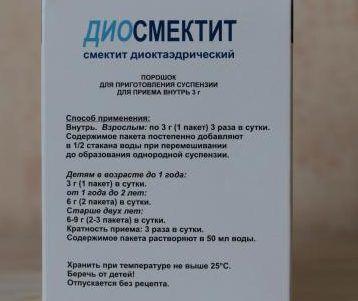 Правила приёма Диосмектита для взрослого по инструкции