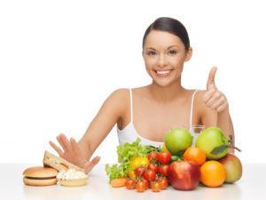 Правильное сбалансированное питание для профилактики заболевания