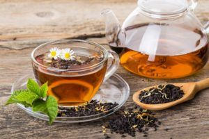 При тяжёлом течении болезни в первый день можно только чай