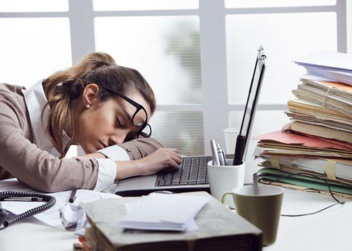 Резко снижается работоспособность