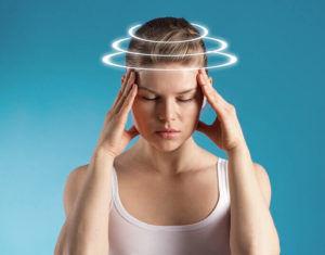 В редких случаях происходит побочный эффект от препарата, такой как головокружение