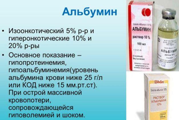 10% альбумин при дизентерии