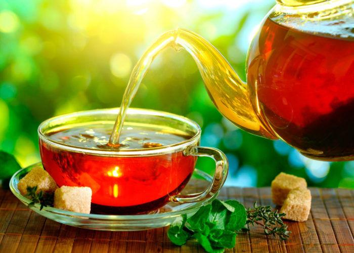 Несладкий теплый чай