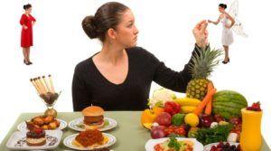 Для устранения тяжести стоит изменить ежедневный принцип принятия еды