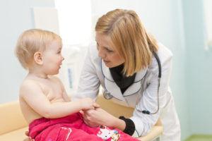 Ежегодно посещать педиатра для профилактики диспепсии