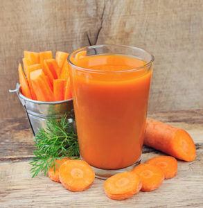 Морковный сок при грыже