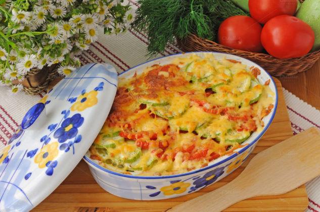 Мясная запеканка с овощами на ужин при тяжести в желудке