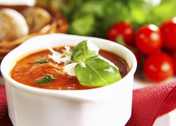 Первые блюда с добавлением томата