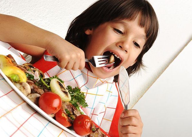 Плохое пережевывание пищи