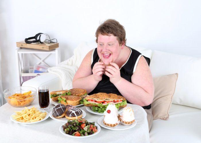 Постоянное переедание